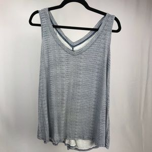 Max Jeans Blue Tank Top